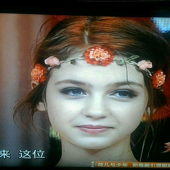 被天天向上的丹麦美女美cry了