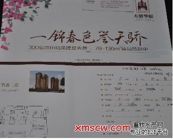 高层住宅其中1号、2号楼为22层高的底商住宅,3号、4号为高18高清图片