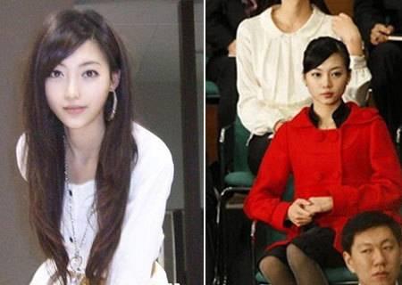 一名中国黑衣美女照片被曝光后