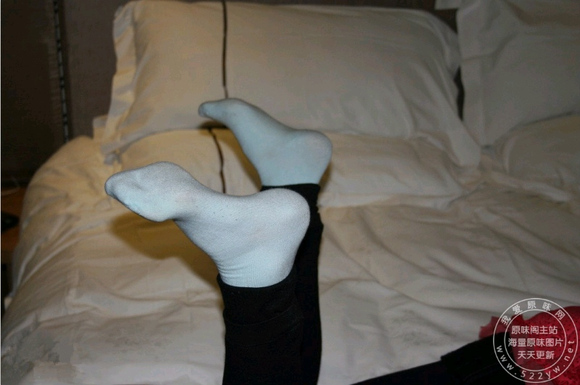 臭臭的棉袜 美丽的女孩