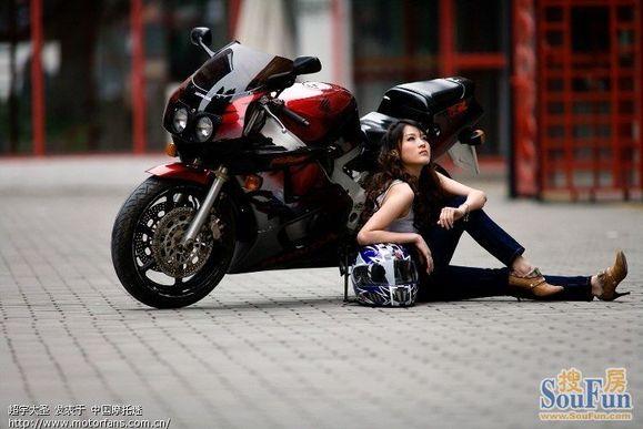 美女与摩托车 临朐吧