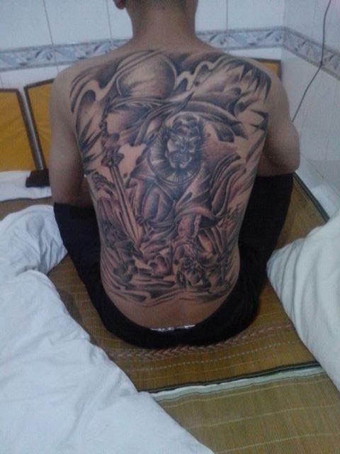 钟馗怎么样求指点,钟馗纹身图片