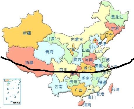 姿势贴中国美女地图核心区影响美女
