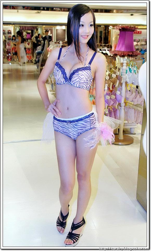 内衣写真 台湾美女sara内衣秀