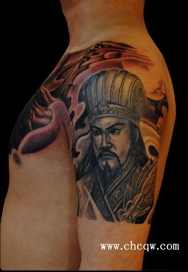 名刺纹身作品地藏菩萨图片   青岛高清图片