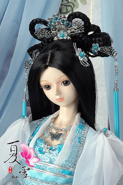 古装SD娃娃图片 美不美进了才知道 新还珠格格吧
