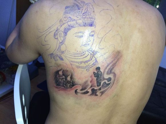 刺青,第一次来   埃及守护神-霍尔斯   株洲唐朝刺客纹身(普贤高清图片