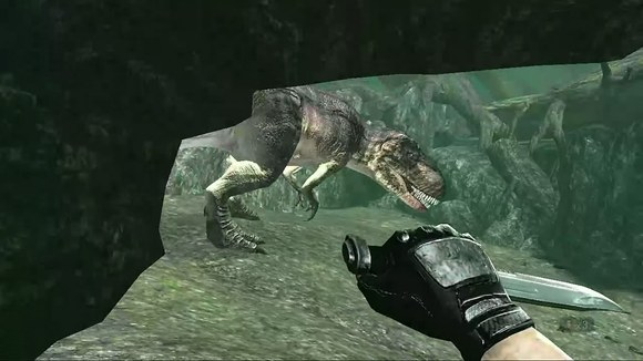 南方巨兽龙VS恐爪龙群 霸王龙吧