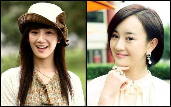 百位女星长发短发对比,你更爱哪一款图片