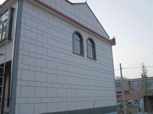 农村外墙真石漆 喷砂 效果图_赣榆吧_百度贴吧 高清图片