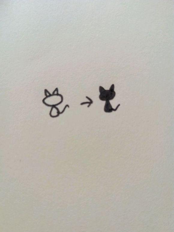 教你画一些简单的花边简笔画
