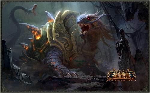 回复 中国神话异兽图鉴 精选超过100种
