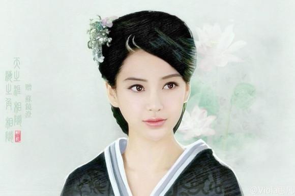 《云中歌》Angelababy汉服照-图片6