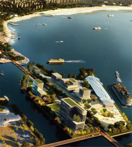 .规划图 青岛西海岸新区,是《山东半岛蓝色经济区发展规划》-京