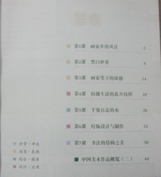 求助~急急急.谁又七年级下册湘教版的美术书图片