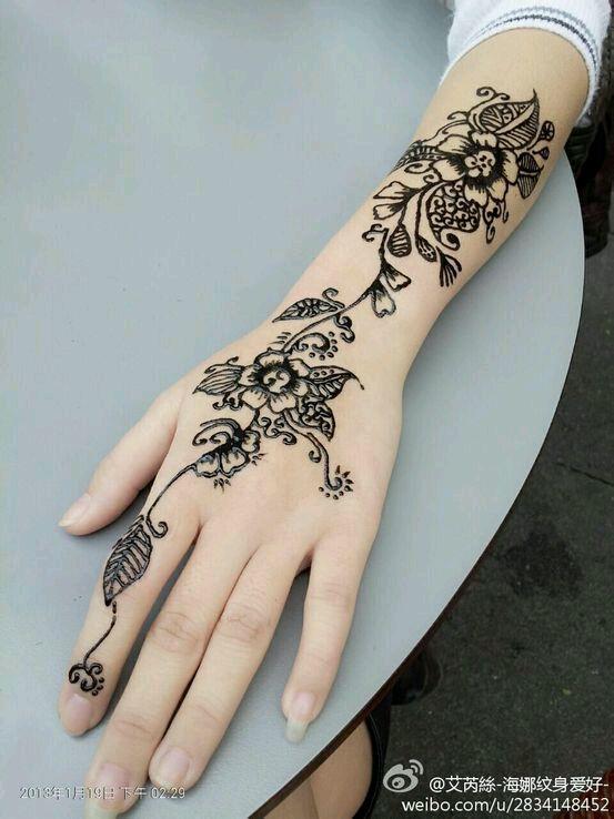 海娜纹身_纹身吧_百度贴吧图片