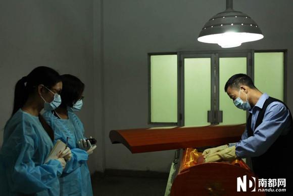 【图】殡仪馆遗化妆工作过程