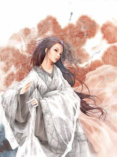 古风版白衣女子图片赏析**血染白纱图片