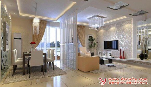 家庭客厅电视墙装饰设计注意细节 济宁万泰装饰吧 百度贴吧 高清图片