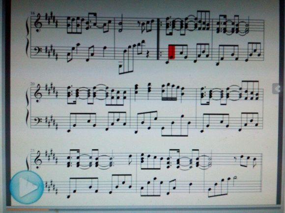 140728 青春修炼手册完整钢琴谱图片