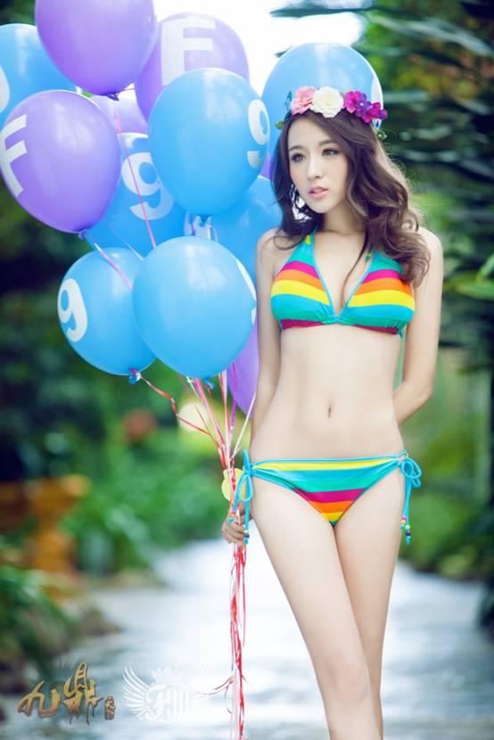 【活动】玩《九鼎天下》f90美女天团邀你海岛游