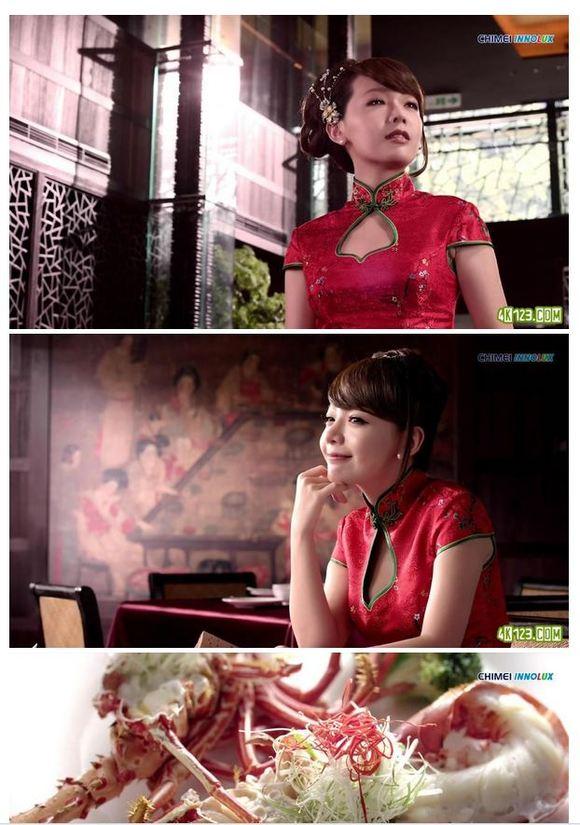 北京烤鸭与美女
