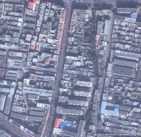 禹州市区的鸟瞰图,高清 能看见你家哟 禹州吧 百度贴吧 高清图片