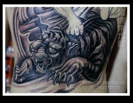 宁德东方龙纹身作品图片
