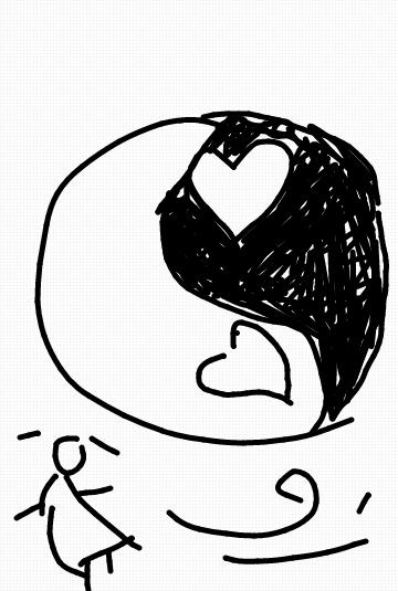 卡通小人物简笔画