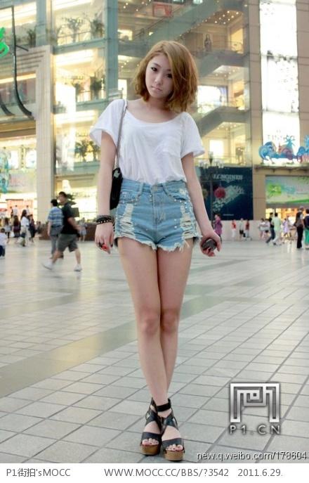 重庆美女街拍 呼和浩特吧
