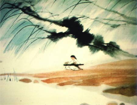 国产水墨画,属于我们自己的水墨动画图片