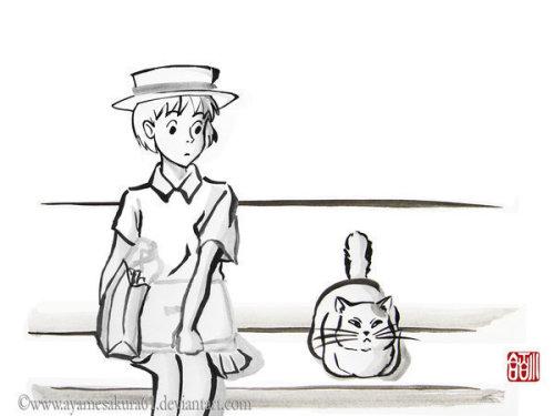 版宫崎骏动画人物图片