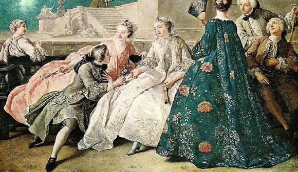个性网 壁纸 欧洲古典宫廷服饰 欧洲古典人物油画 欣赏 高清图片