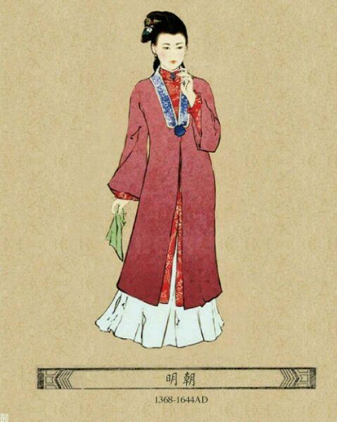中国古代美女服饰都有哪几款?图片