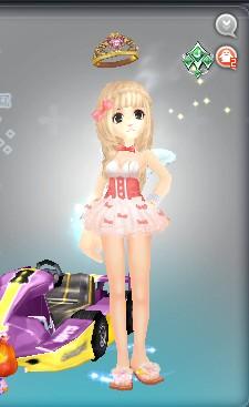 粉色迷情吊带背心怎么搭配好 qq飞车吧 百度贴吧 高清图片