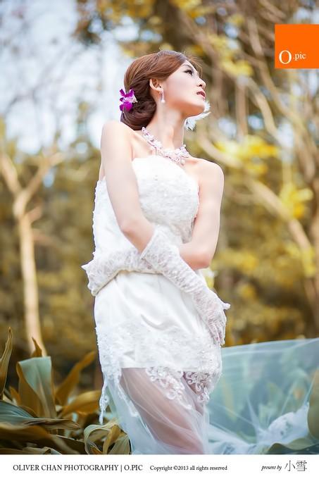 Winnie小雪高清婚纱摄影外拍 1图片