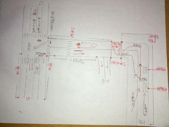 福州科目三旧考场手画地图加个人心得备注图片
