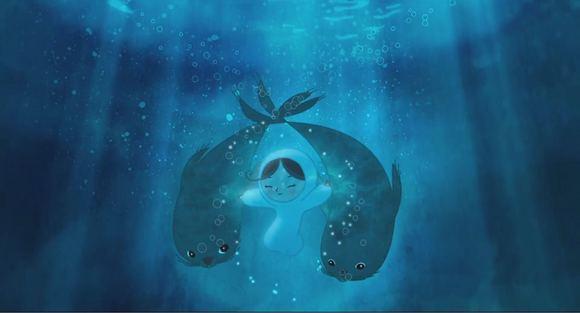 电影截图清新动画电影海洋之歌」ヽ