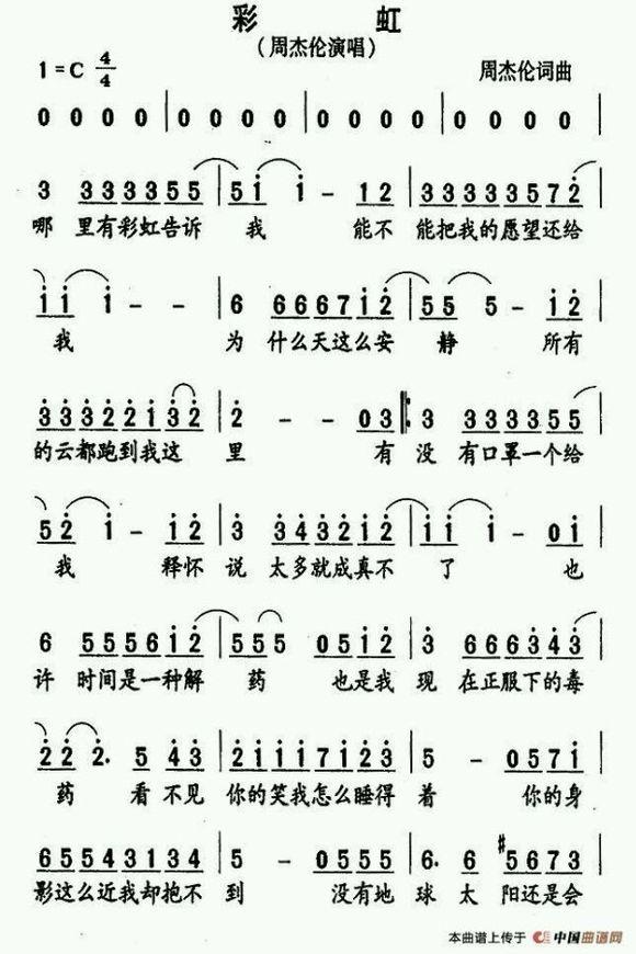 扒一扒找出来的尤克里里小琴谱图片