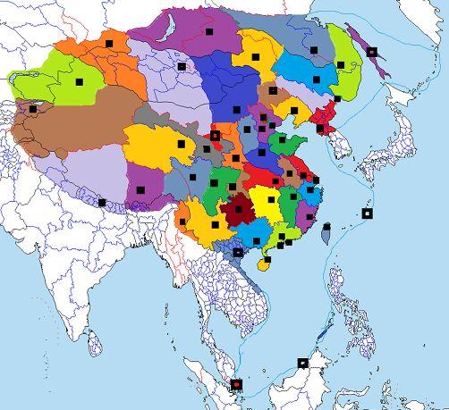 未来中国行政区划分图片