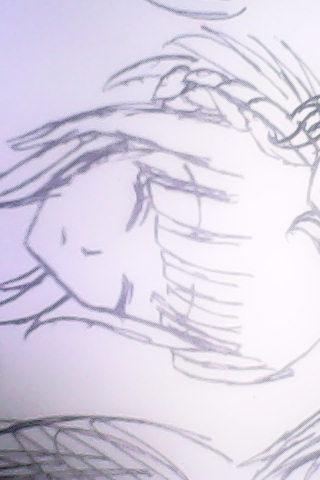 .我可不是用铅笔画好再描线的哦-圆珠笔画 水笔画 囧 重新发帖 动漫