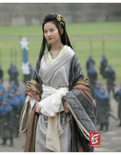 中国古代女性服饰图片