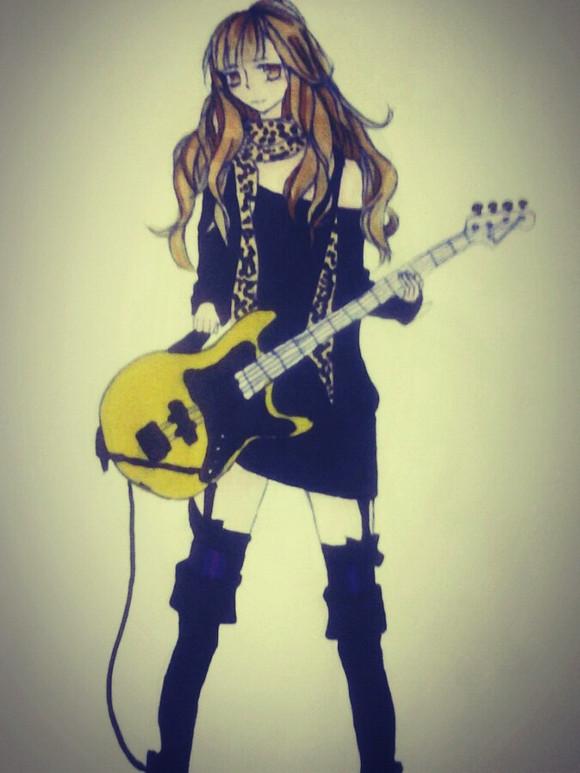 &xb208; &xb208;弹吉他的少女啊