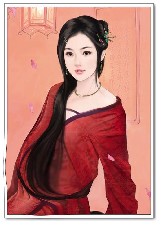 【古装手绘孕妇】ps古装手绘美女孕妇