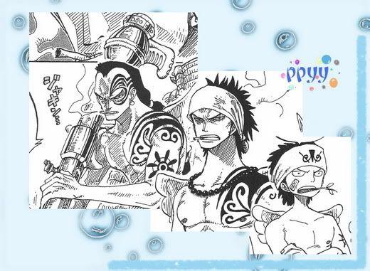 海贼王人物纹身大盘点图片