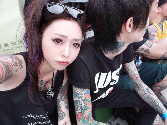 中国的美女纹身师们 欢迎补充