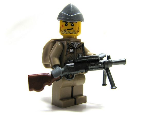 大家欣赏一下可爱的二战乐高基佬部队,顺便宣传 ...