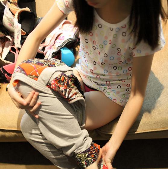 小女孩性感小内裤