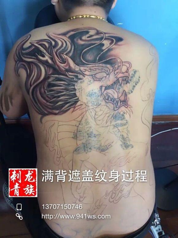 麒麟纹身的含义是什么?图片