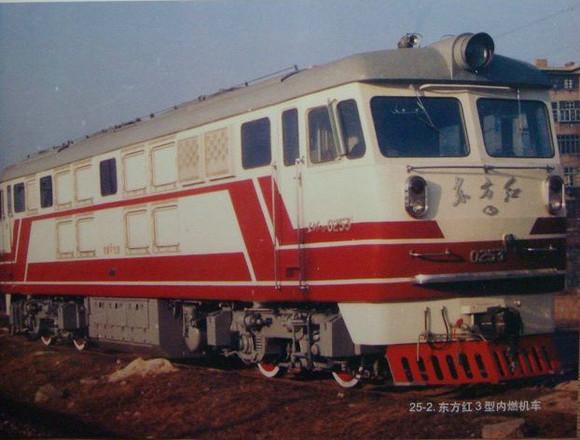 中国铁路车���d_中国铁路内燃机车发展50年